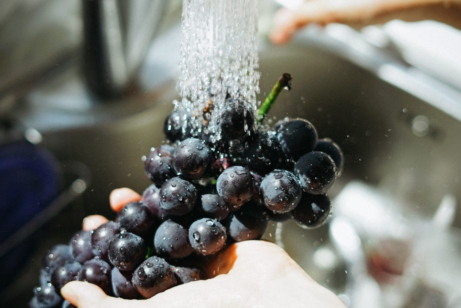 A food safety course can teach you the right way to wash vegetables and fruits